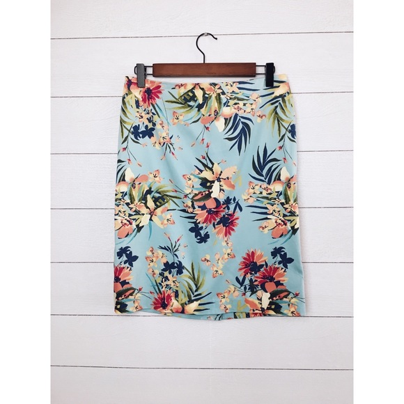 Talbots Dresses & Skirts - Talbots | Tropical Floral Pencil Skirt